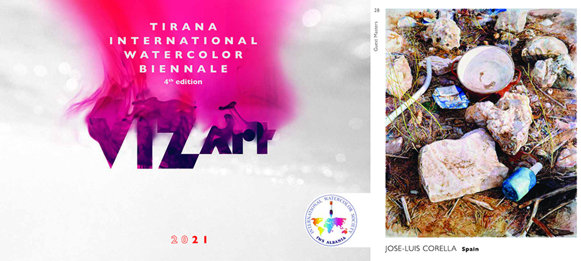 VIZ-Art International Watercolor Biennale. 4 Edition. Tirana. Albania 2021