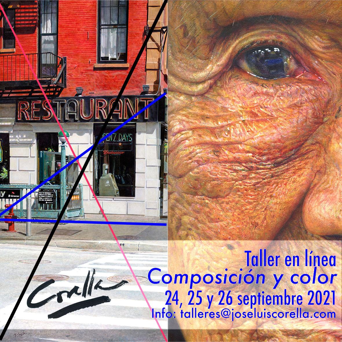 Taller en linea - Composición y color